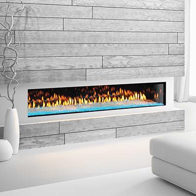 Heat & Gloprimo 72 modern gas fireplace