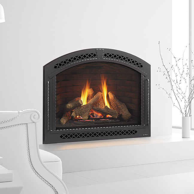 cerona gas traditional fireplace