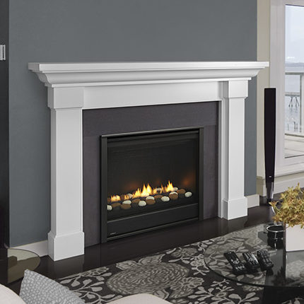 eclipse modern gas fireplace
