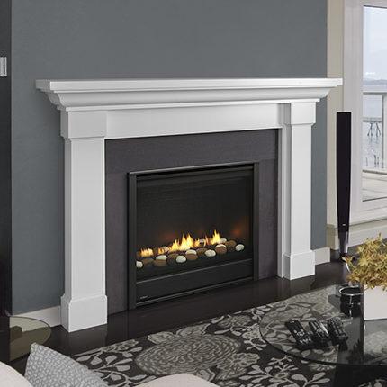 eclipse modern gas fireplace
