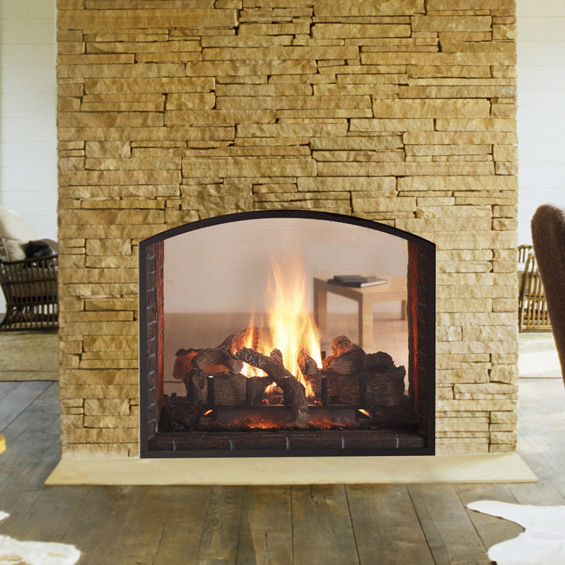 Gas Fireplace see through gas fireplace insert : Products Archive - Forge Distribution