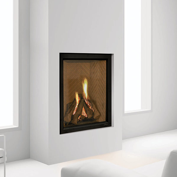 everest gas traditional fireplace