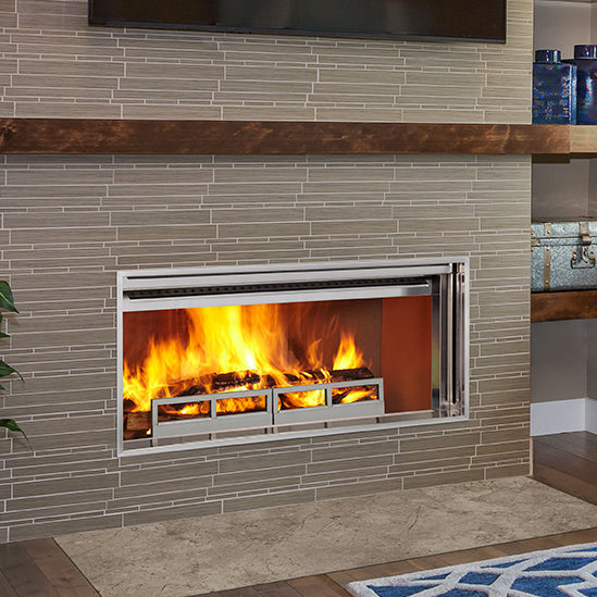 longmire wood modern fireplace thumbnail