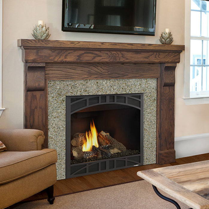 novus 36 traditional gas fireplace thumbnail
