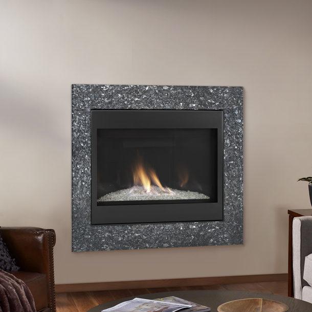 Novus Evolution Modern Gas Fireplace