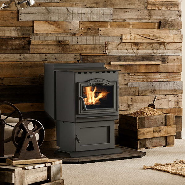 p43 traditional pellet stove thumbnail