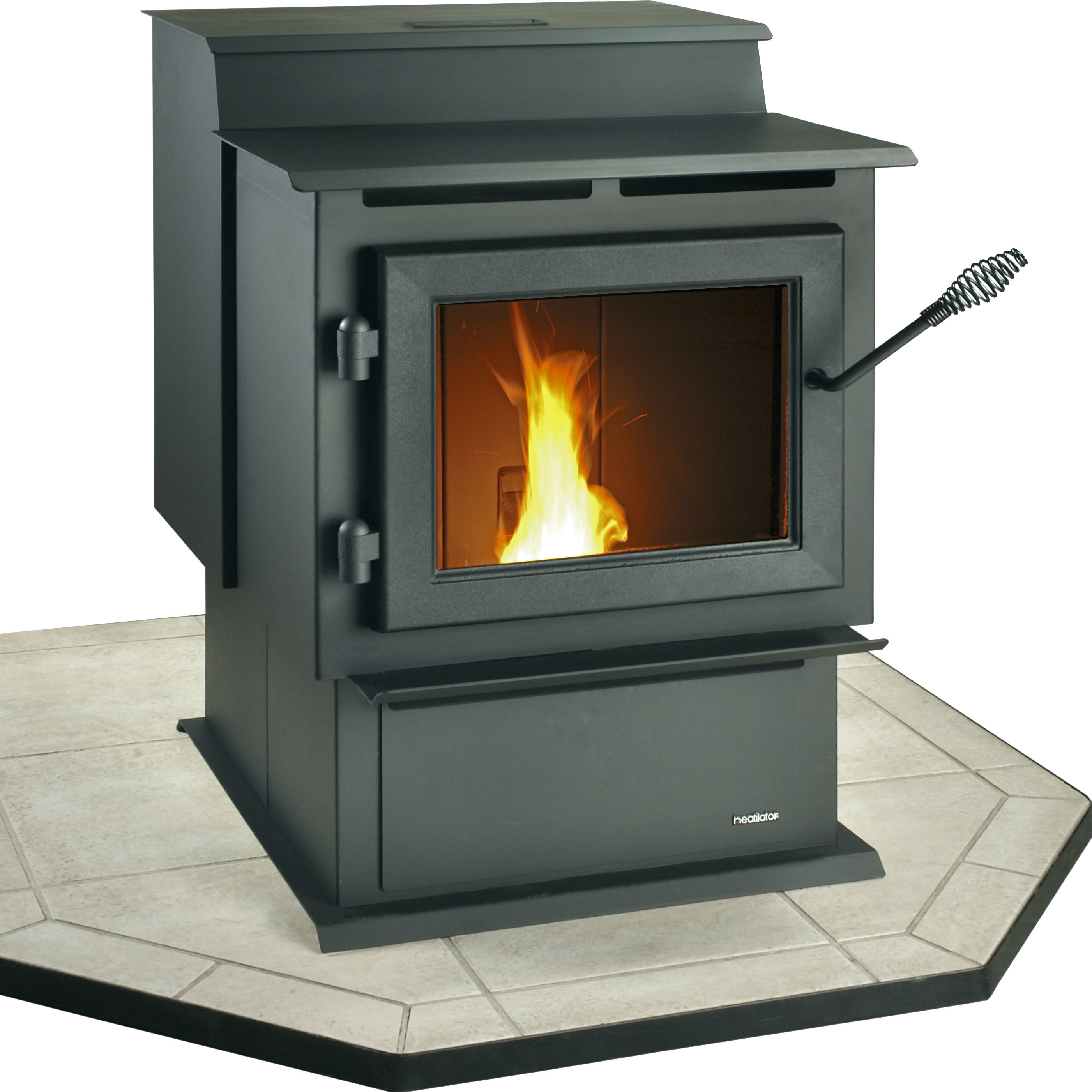 ps series eco pellet traditional stove