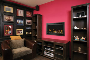 Heatilator Rave 32 gas fireplace