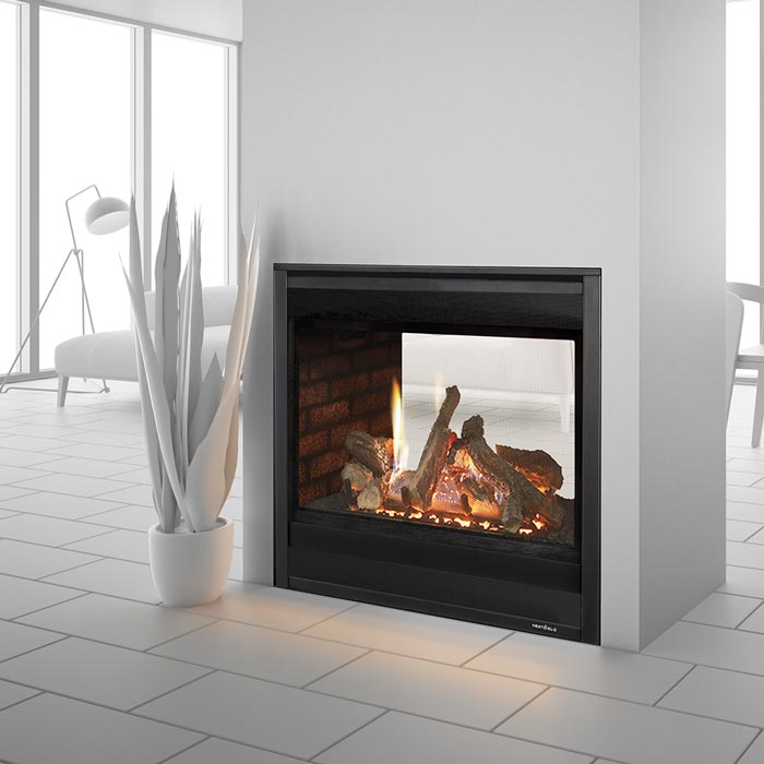 Heat And Glo Multi Sided Gas Fireplace Forge Distribution