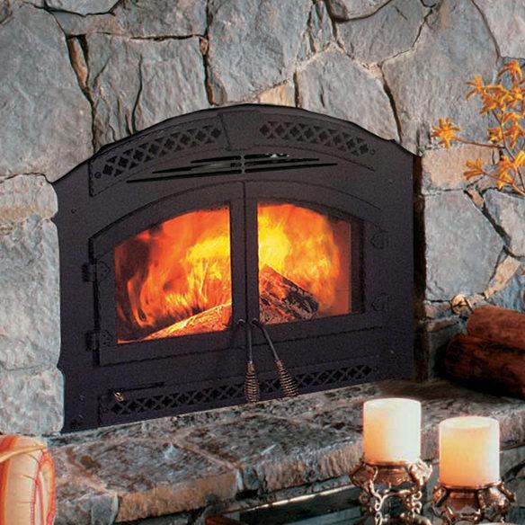 North Star - Wood Fireplace - Heat & Glo