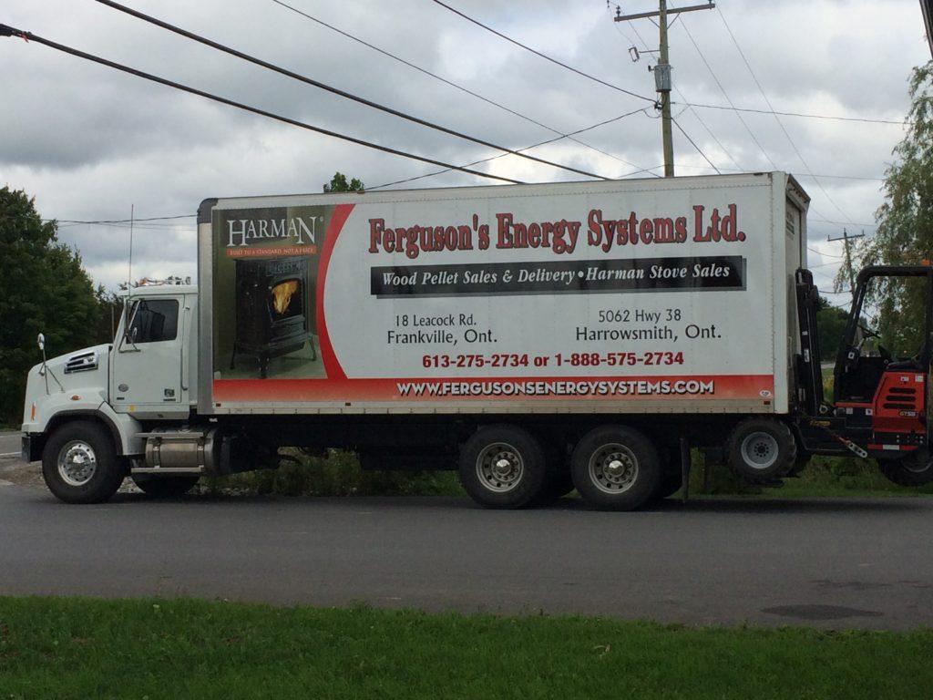 earl ferguson energy systems truck install residential