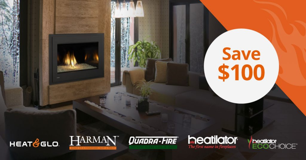 Save $100 on your new unit!