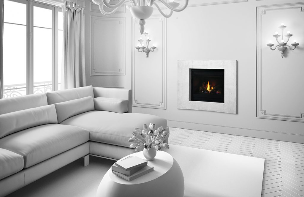 Slimline 5 gas fireplace
